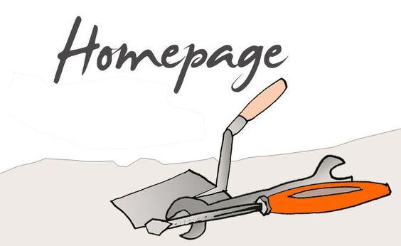 Homepage erstellen oder überarbeiten