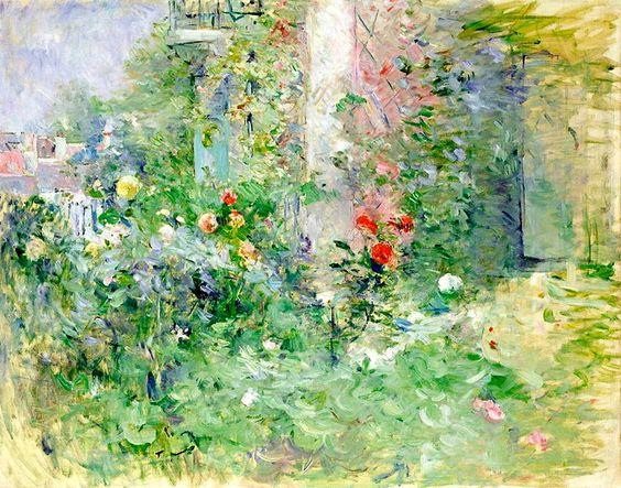 Berthe Morisot the Garden at Bougival