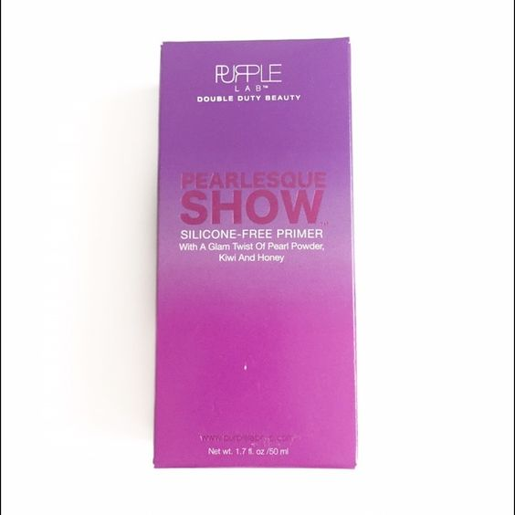 Purple Lab Pearlesque Show Primer Hard to find NIB Silicone-free Primer | get no pilling, flaking, or slippage with this product! Instead, just the subtlest of sheen without the shine!! | retails at $30 Purple Lab Makeup Face Primer