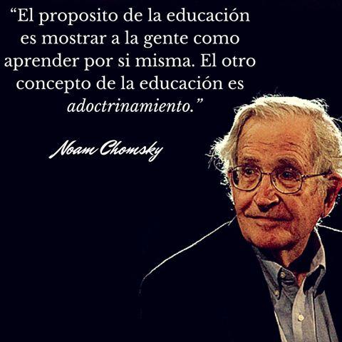 Si nos enseñasen a aprender, no haría falta que nos enseñasen nada más...
