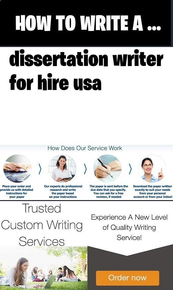 dissertation writers for hire