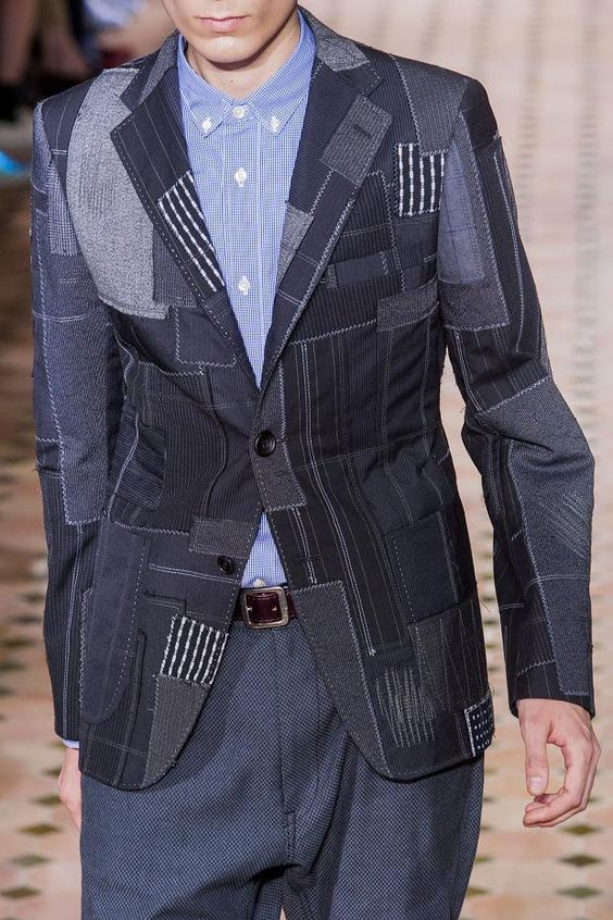 Junya Watanabe Spring 2015 Menswear.