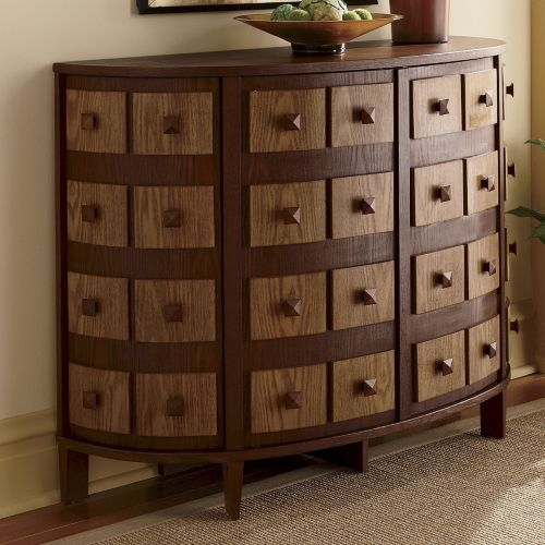 Apothecarie Decorators Curved Console by Montgomery Ward from Ginny's ®