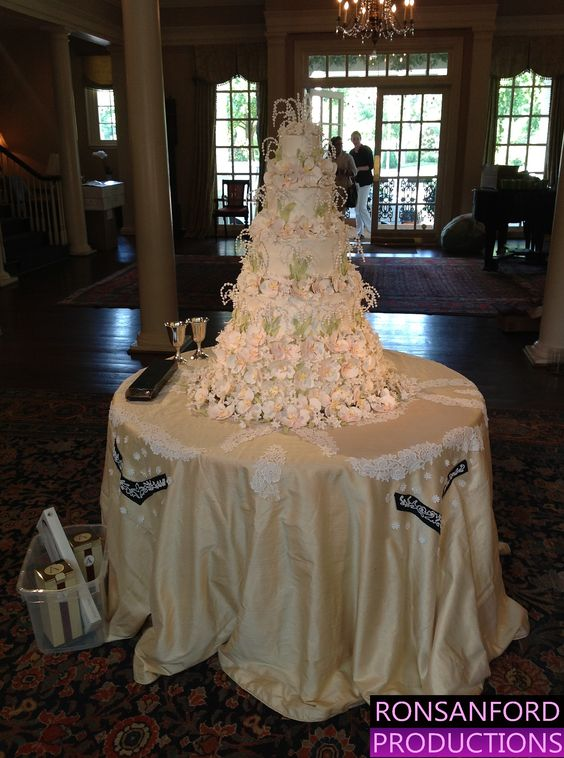 Cake and Sweetheart Tables example 6