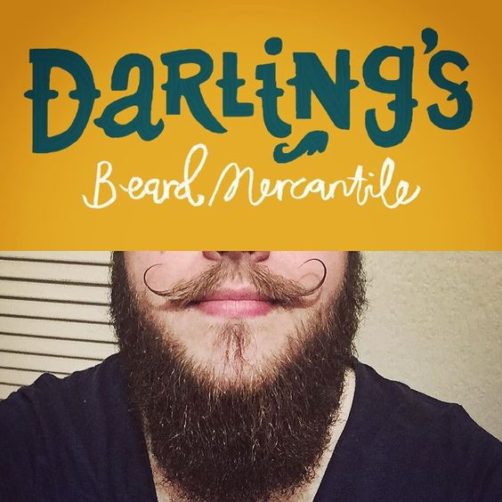 Yesterday's strong beard game was brought to you by @darlingsbeardmercantile it's possibly a bit narcissistic to be obsessed with your own products but the novelty hasn't worn off having my chin smell like spearmint!  Please go and like my page! Im not far from 100 and once we're there I'll be giving away some prizes for free!! #beard #radicalbodylove #effyourbeautystandards #bodypositive #plussize #beardpositive #beardgrooming #moustache #moustachewax #darlings by domclark