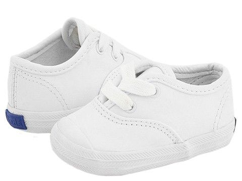 keds white infant shoes