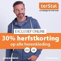 30% herenkleding terStal korting. #mode #kleding #terStal #herenkleding