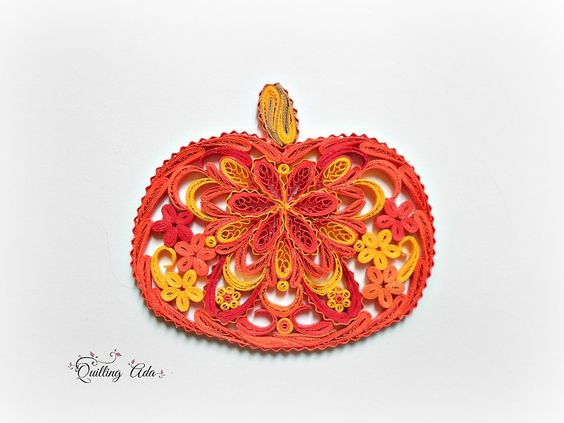 Quilling by Ada: Dovlecei