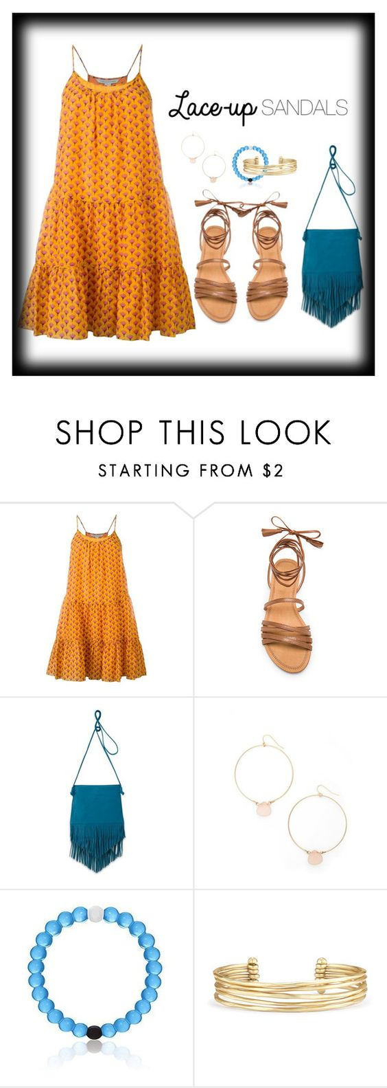 """Sandals"" by lsmarick ❤ liked on Polyvore featuring Diane Von Furstenberg, ále by Alessandra, HOBO, Ettika, Stella & Dot, contestentry, laceupsandals and PVStyleInsiderContest"