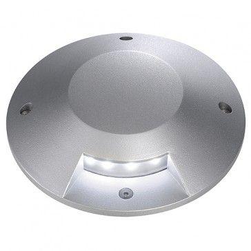Abdeckung für BIG LED PLOT ROUND, 1 Beam, silbergrau / LED24-LED Shop