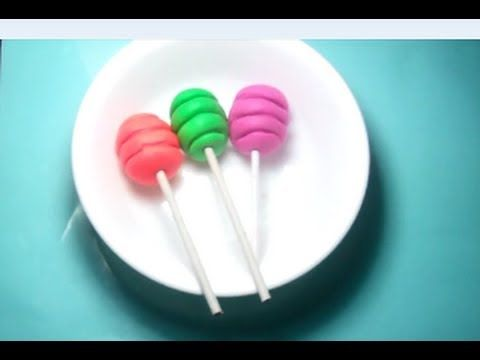 Playdoh Lollipops