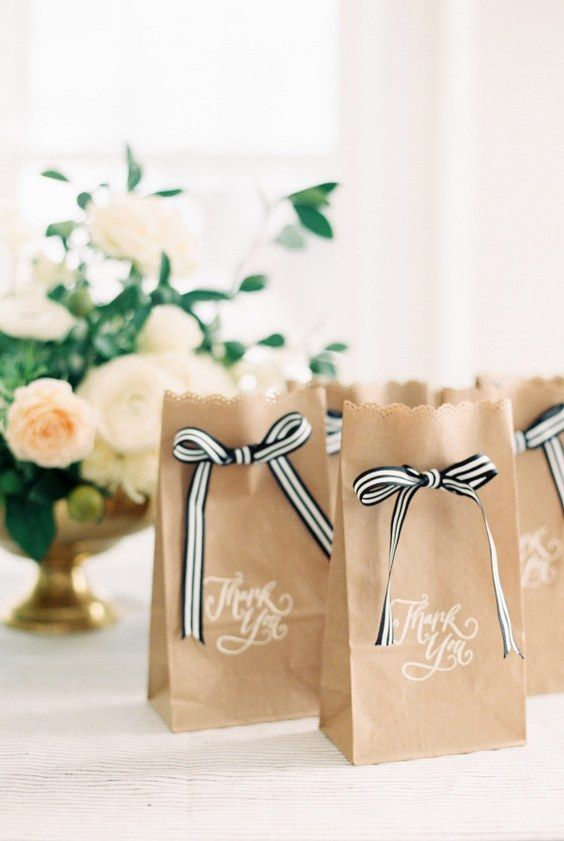 Wedding Favor Bags With Ribbon : paper wedding ribbon wedding wedding favor bags wedding decor wedding ...