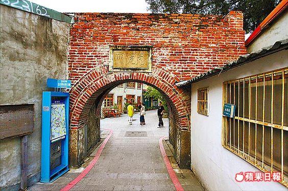 兌悅門昔日是台灣府城大西門的外城門,曾繁華一時。