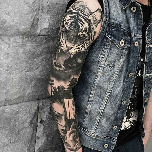 125 Best Sleeve Tattoos For Men Cool Ideas Designs 2020 Guide Best Sleeve Tattoos Tattoo Sleeve Men Tattoos For Guys