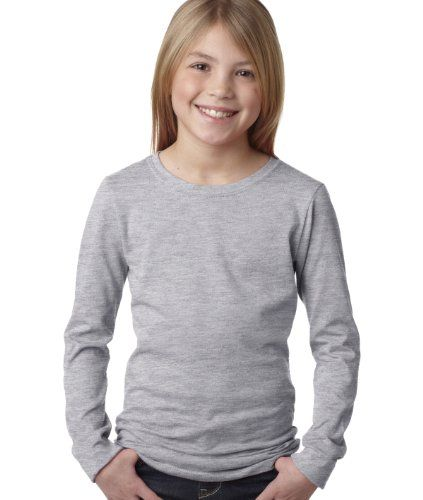 NEXT LEVEL The Princess Long Sleeve Tee>M Heather Grey 3711 Next Level Apparel http://www.amazon.com/dp/B00DGF80IU/ref=cm_sw_r_pi_dp_OEg.vb1TYBMP2