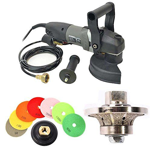 Hardin Brt34polset Variable Speed Wet Grinder 34 Bullnosing Profile Wheel Set Click For More Special Deals Cool Things To Buy Ebay Stone Surface