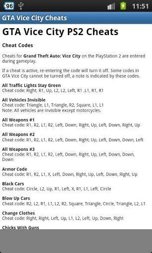 grand theft auto vice city sex codes