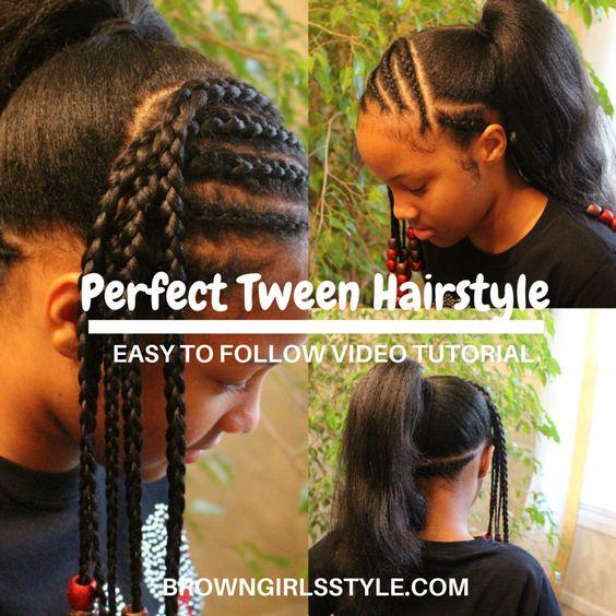 Brilliant Natural Black Hair Natural Hair Tutorials And Tween On Pinterest Short Hairstyles For Black Women Fulllsitofus