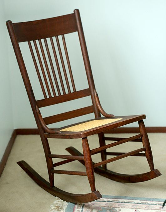 Antique pine ladies sewing rocker from the 1800s - price is $65  Old ...
