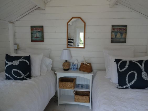 Inside Of Shed Turned Guest House Small Quest House