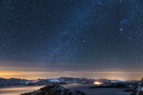 One Night on the Pilatus. Switzerland, 2013. © Philipp Häfel.  Available at https://flic.kr/p/dYU6qz.