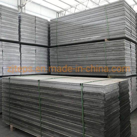 Hot Item Anti Seismic Sound Insulation Lightweight Concrete Panel Eps Sandwich Panel With Calcium Silicate Board For Building Tower Residential In 2020 Sound Insulation Concrete Panel Concrete