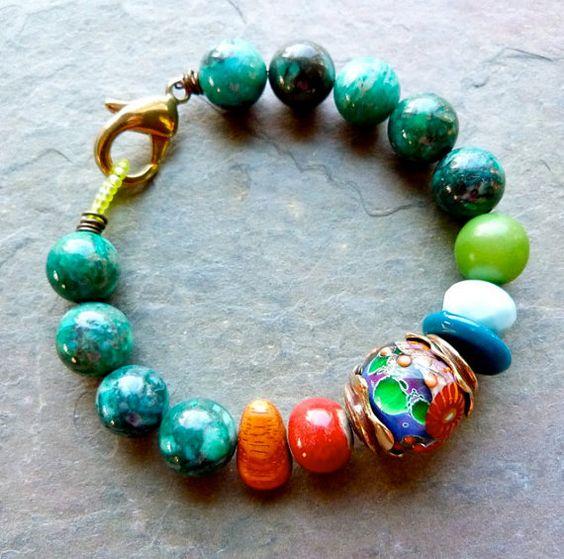 Color Pops bracelet by Lorelei Eurto Jewelry