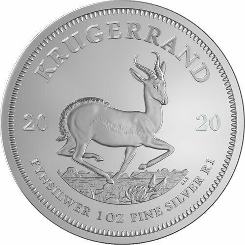 5 Coin Lot 2020 South African Silver Krugerrand 5 1 Oz Coins In 2020 Silver Krugerrand American Silver Eagle Africa