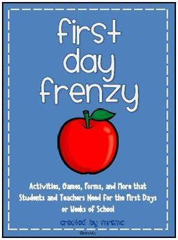 20 First Day of School Activities and Resources for Students and Teachers!: