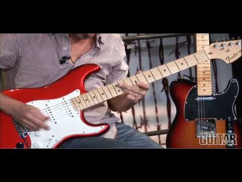 Fender Mexican Strat vs American Stratocaster Guitar Review | Spinditty