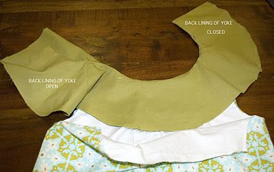 Grace Designs: Amy Butler Anna Tunic: Help with Attaching Yoke