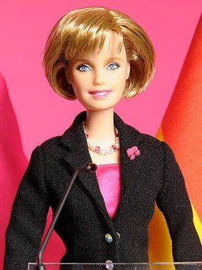 Angela merkel barbie