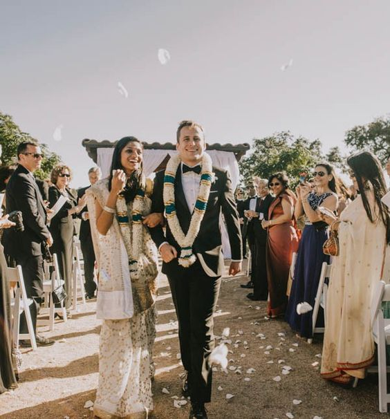 { CHIC FUSION WEDDING AT THE VINEYARD AT FLORENCE } The Couple: Meera and David .......... The Wedding: The Vineyard at Florence, Florence, Texas