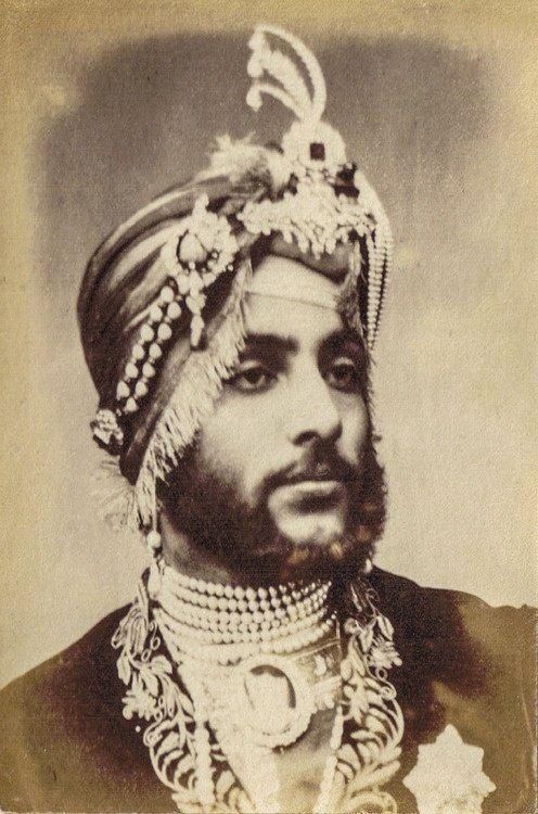 Индийские махараджи и их аксессуары