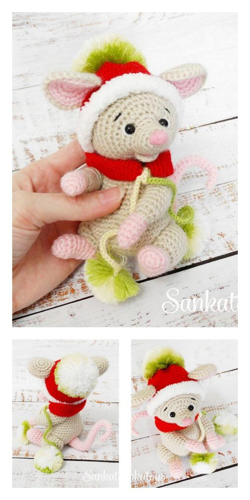 Cute Crochet Patterns Free And Pinterest Favorites | Crochet cat ... | 1024x512