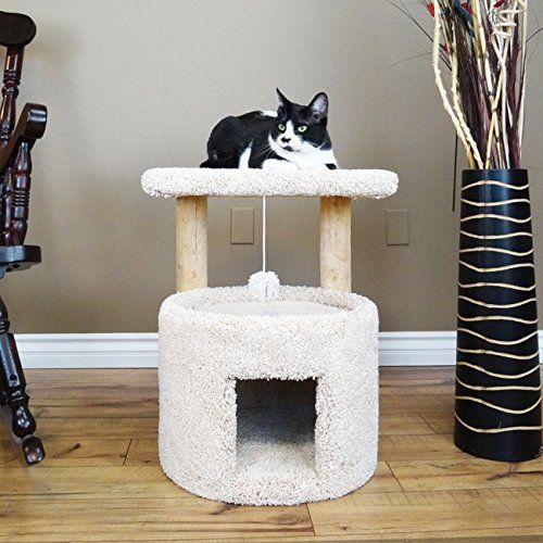 New Cat Condos Premier 24 Inch Cat Sleeper Brown Find Out More About The Great Product At The Image Link This Is An Cat Condo Cat Furniture Cat Tree Plans