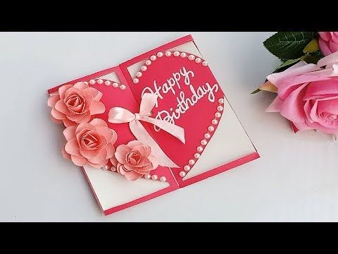 How To Make Special Birthday Card For Best Friend Diy Gift Idea Youtube Special Birthday Cards Birthday Cards For Friends Diy Gifts For Friends