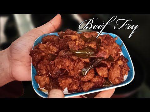 Beef Fry Recipe Beef Dry Fry Beef Varuval In Tamil Beef Fry Kerala Style Beef Roast Youtube Beef Recipes Recipes Fried Beef