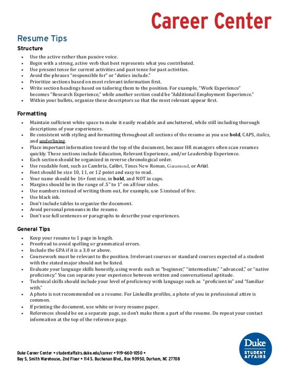 Resume Tips And Improving Verbs Resume Guide Pinterest   Student Affairs  Resume  Student Affairs Resume