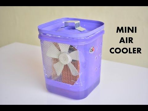 How To Make Powerful Air Conditioner Without Ice Diy Cardboard Crafts Ac At Home Youtube Energia El Interes
