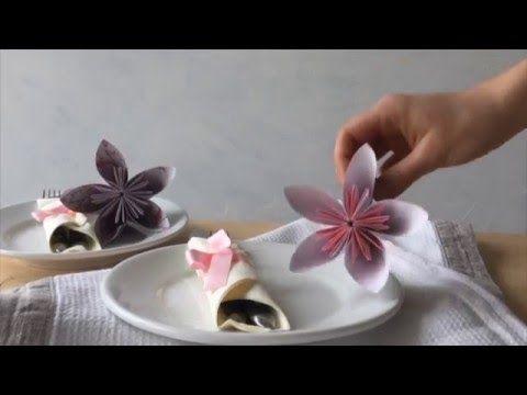 Mein Schönes Land Basteln anleitungsvideo origami blüten basteln mein schönes land bloggt