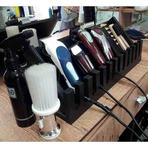 Suporte 8 Pentes E 3 Maquinas Wahl Barbeiro Barber Shop R 55 90 Em Mercado Livre Interior Da Barbearia Barbeiro Bancada De Barbearia