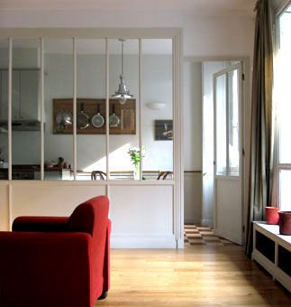 Une verrière d'intérieur pour illuminer et agrandir ma pièce - CôtéMaison.fr