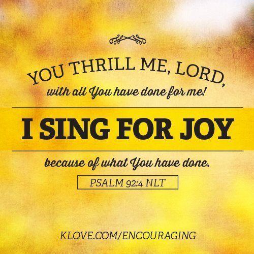 Psalm 92:4: