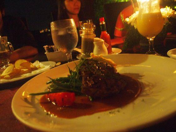 Dinner at The Peak, Bandung Indonesia