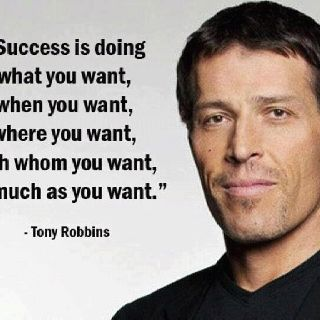Anthony Robbins quote of the day!