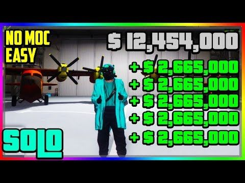 Solo Money Glitch Plane Duplication Glitch No Moc Ps4 Xbox One Pc Super Easy Youtube Gta 5 Online Xbox One Pc Gta Online