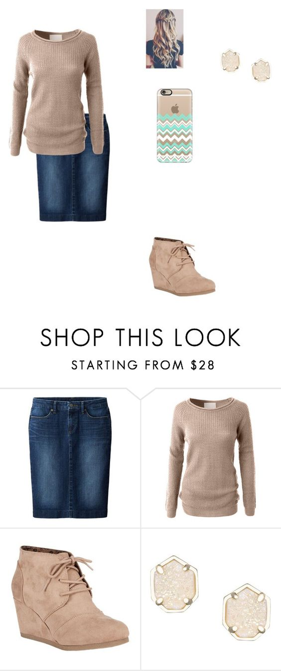 """tuesday"" by dream330 ❤ liked on Polyvore featuring Uniqlo, LE3NO, City Classified, Kendra Scott and Casetify"