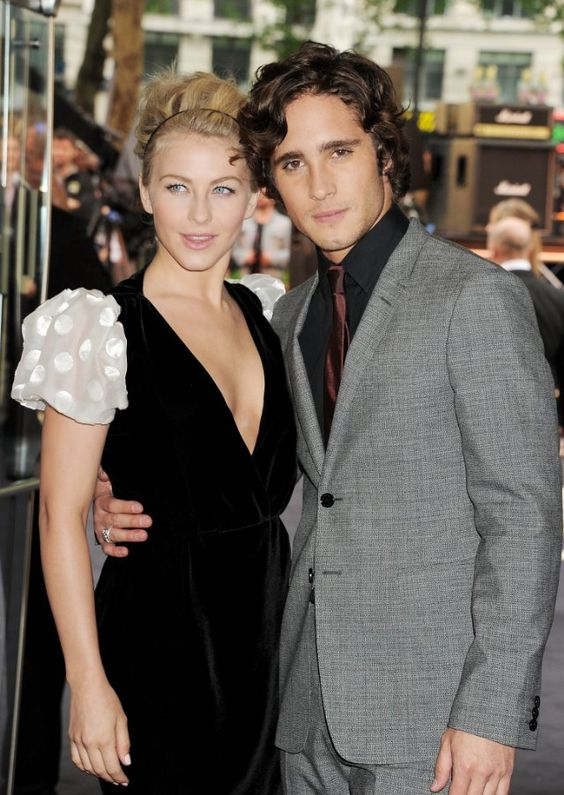 Love her look...including the arm candy. Diego Boneta and ...