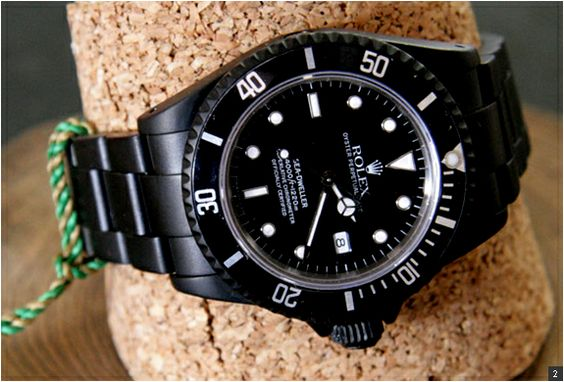 Rolex Black Limited Edition Watches